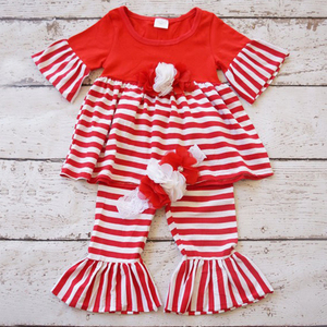 Giggle moon remake outfits girls boutique sets smocked children clothing christmas baby clothes baby outfit