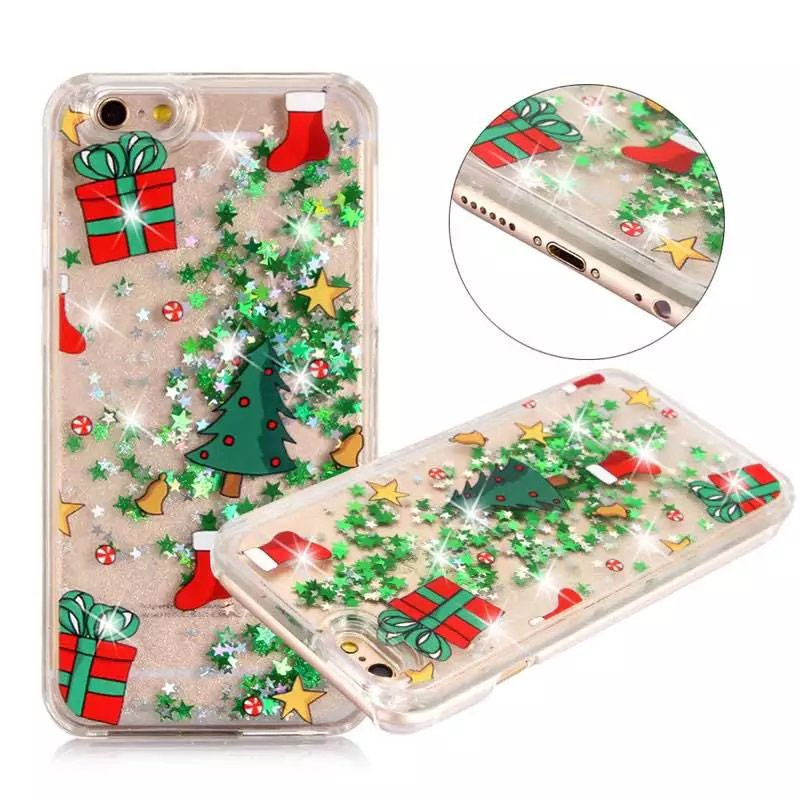 accessories for cell phone wholesale quicksand cover christmas product liquid case hard plastic cover for iphone 7 7 plus 6 6s buy quicksand case for