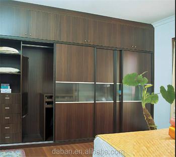 High Quality Modern Design Bedroom Furniture Big Open Wardrobe Design