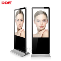 Factory customized 43 inch 3g 4g standalone advertisement indoor lcd digital signage player in store led display screen