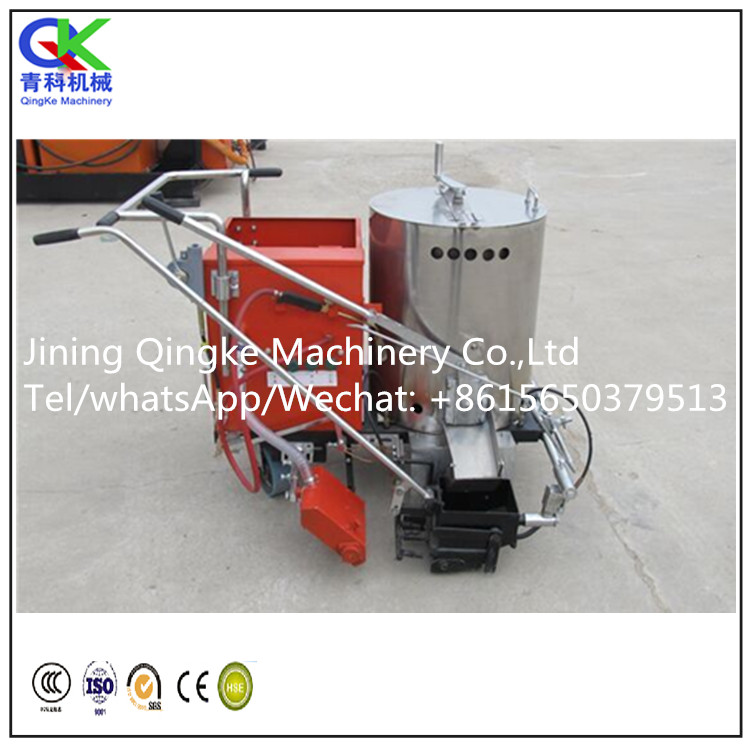 hand push Pavement hot melt road marking machine
