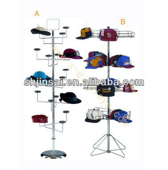 Latest Technology Wholesale Factory Price Lower Price Hat Display Rack