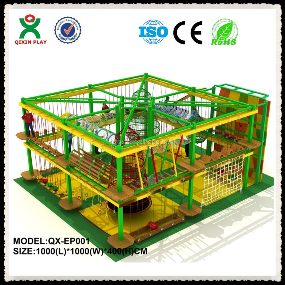 children expansion indoor rope equipment/indoor playground for shopping mall/