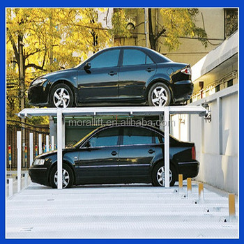 Cheap Two Level Parking Lift Car Garage Hydraulic Lift For