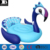 heavy duty vinyl jumbo inflatable peacock pool float durable water lounge island