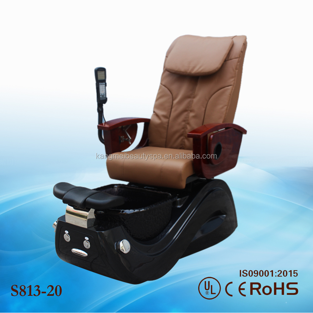 2017 hot sale cadeira de massagem spa pedicure chair luxury massage zero gravity S813-20