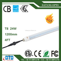 led t8 24W 1200mm v sharp isolated driver china supplier for freezer