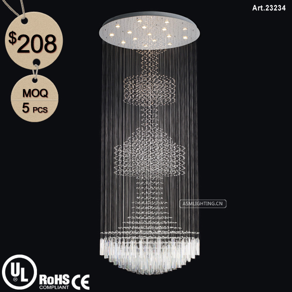 Wholesale Square Modern Crystal Chandelier for Home/Hotel/Hall ...