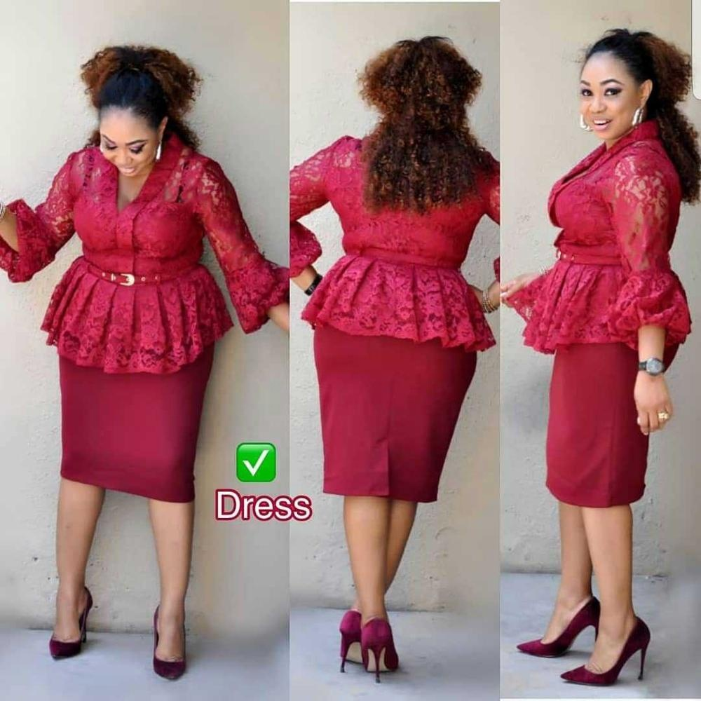 Wholesale African Women Lace Dress Plus Size Peplum Dress - Buy Peplum  Dress,African Lace Dress,African Women Dress Product on Alibaba.com