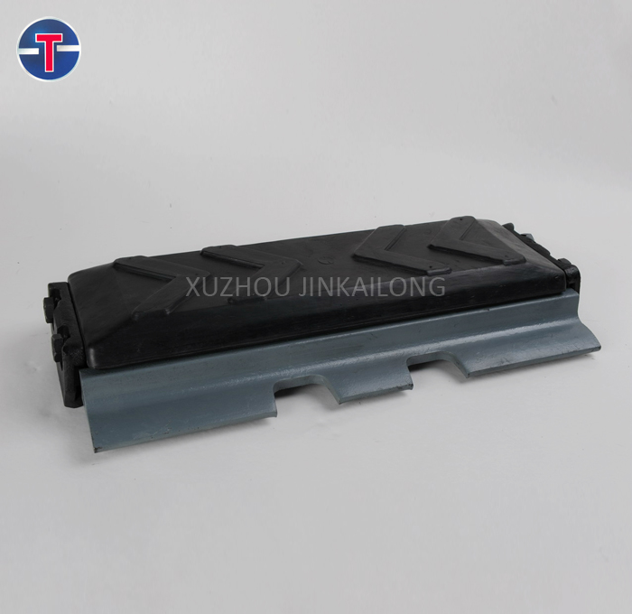 excavator rubber track pad spare parts track shoe