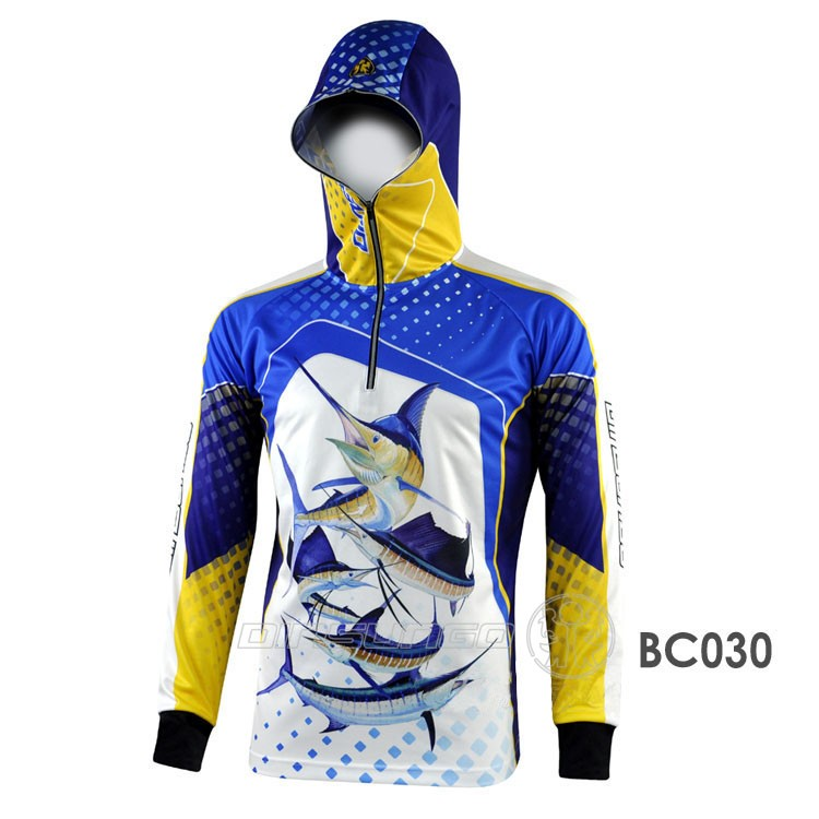 UV protection sublimation printing quick dry fishing clothing