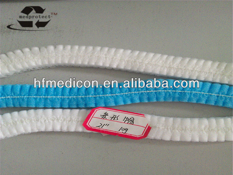 Non-woven disposable Linearity hat/Doctor cap
