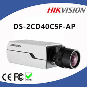 DS-2CD40C5F-AP 12MP Hikvision Box CCTV IP Camera Support 128G on-board Storage