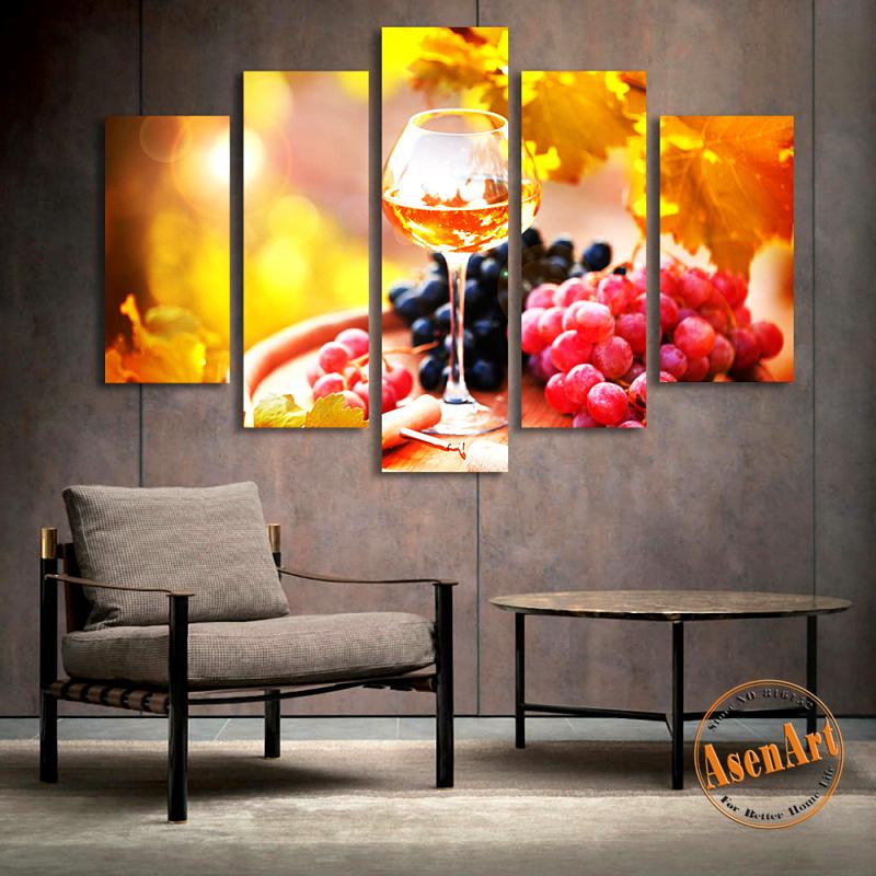 Dining Room Art Prints: Online Get Cheap Grape Kitchen Decor -Aliexpress.com