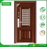 Iron Grill Door Designs Steel Door Interior Wrought Iron Door with Hardware