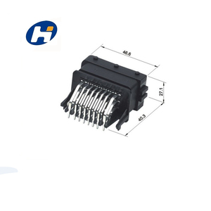 male fci automotive connector HCCPHPE24BKA90F