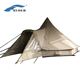 4 Person Waterproof Large Family Camping Canvas Bell Tent