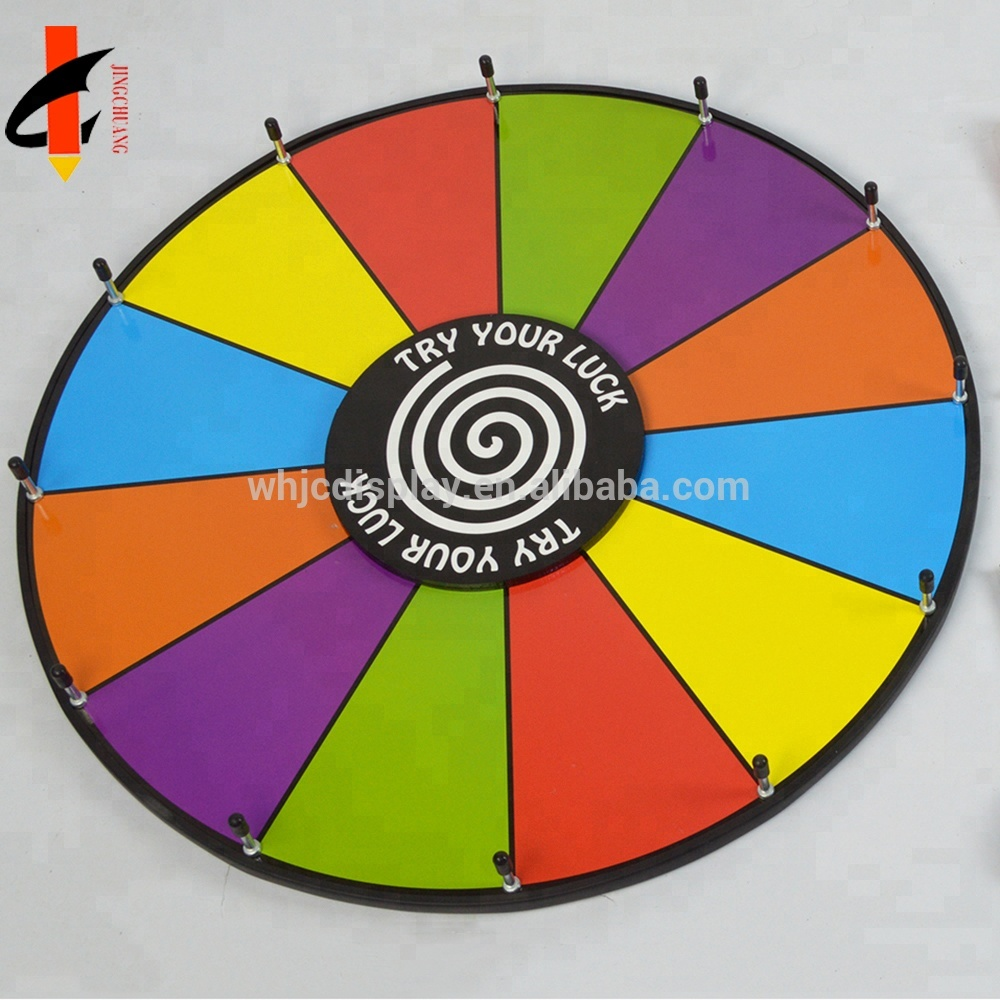 12 Inch Tabletop Color Dry Erase Custom Spin Prize Wheel - Buy Table Top  Prize Wheel,Spin Prize Wheel,Dry Erase Custom Spin Prize Wheel Product on