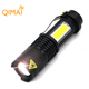 2018 new design aluminum 4 modes flashlight led 14500 tactical led cob mini flashlight