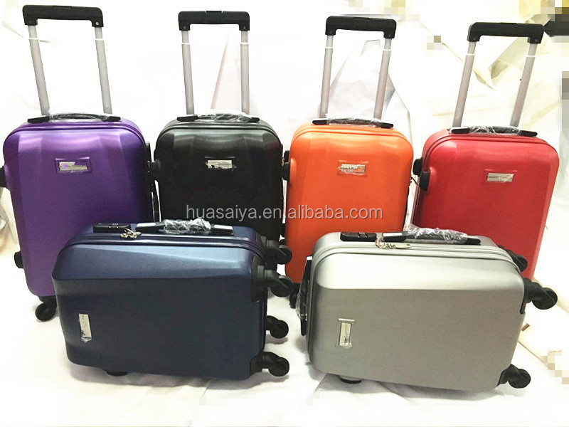 OEM wheeled suitcase maleta bag sunrise luggage for British Scotland, China Brand Customize Factory