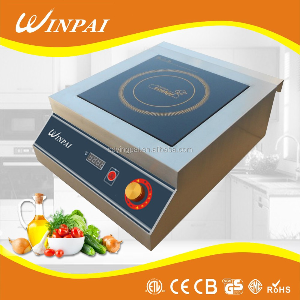 Factory Price Double Copper Coil 3500w Commercial Induction Cooktop ...