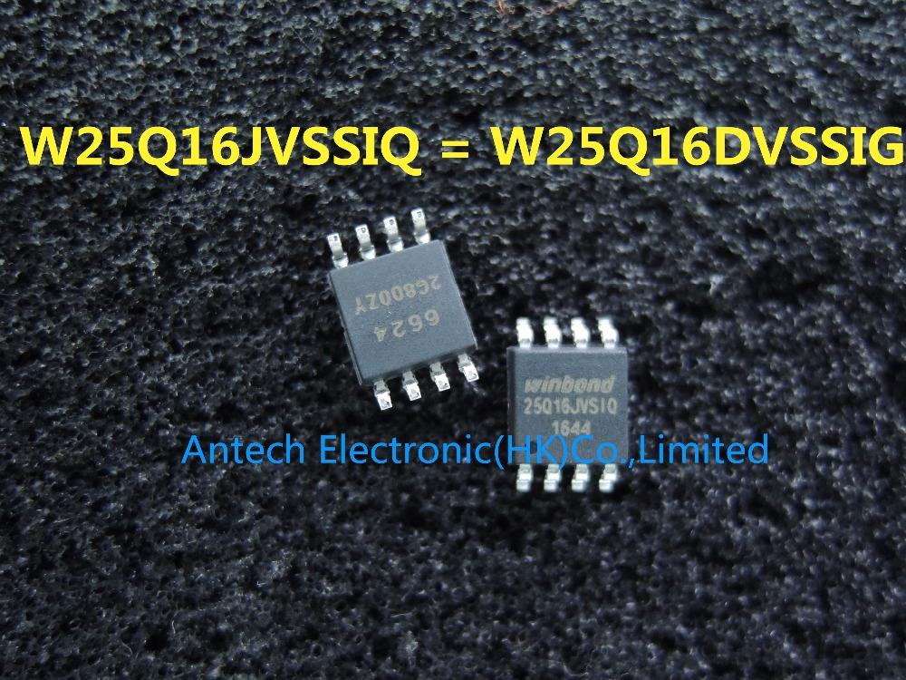 10 PCS NEW W25Q16DVSIG WINBOND SOP-8 W25Q16DVSIG
