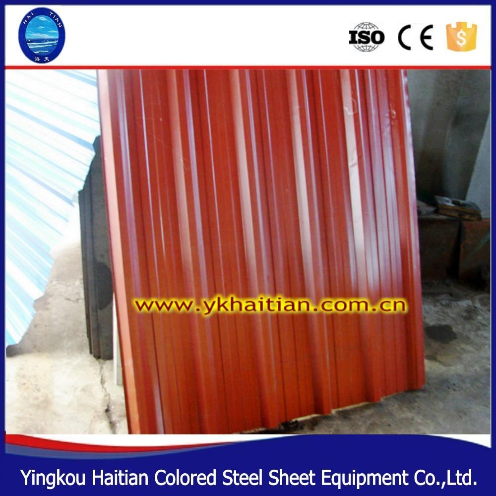 Barato corrugado material de zinc para techos de aluminio hoja ...