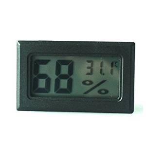 Digital Mini Instant-Read Temperature & Humidity Gauge Thermometer Applications for Cars, Incubators and Brooders
