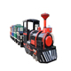 Hot sell outdoor playground christmas mini track train for kids
