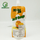 High quality Plastic beverage spout pouch Fruit Juice drink Spouted bag With cap