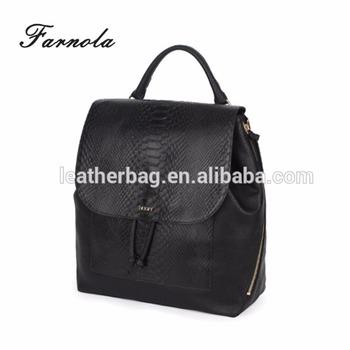 3fa48058ac4a 2018 Fashion School Bag Leather Backpack - Buy 2018 Bag ...