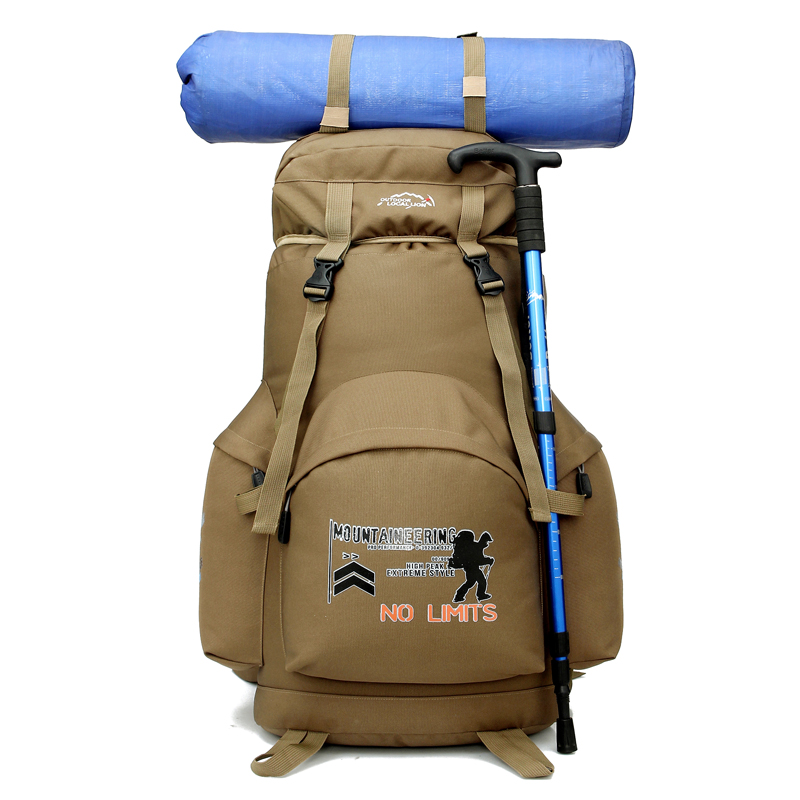 Professional 70L Capacity Military Backpack Outdoor Climbing Camping Travelling Tactical Backpack