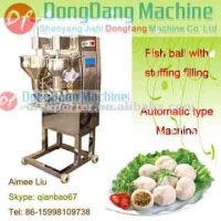 Sandwich fish balls making machine, fish ball with filling molding machine