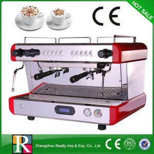 Commercial Semi-Automatic Espresso Coffee Machine/ Coffee Maker with good espresso coffee machine parts