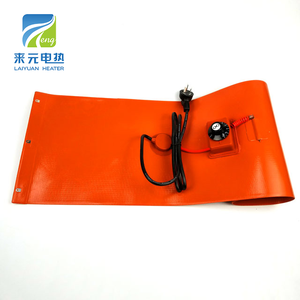 Flexible Adhesive Silicone Rubber Heat heating Resistance Heater Pad
