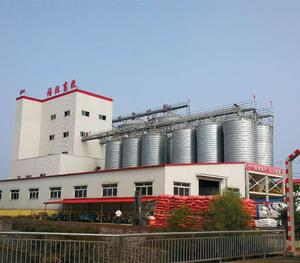 Various types cereal storage grain steel silo for sale corn silo