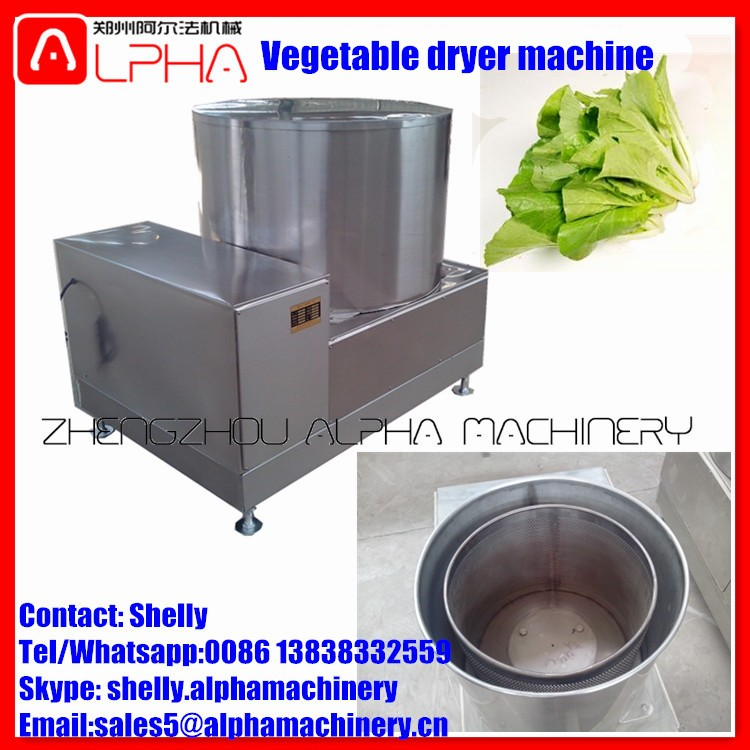 Centrifugal vegetable dewatering machine spin dryer for vegetable