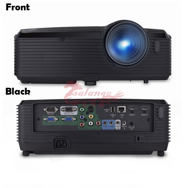 High lumes multimedia large venue projector original manufacture for outdoor building,350W lamp and 1920x1080P