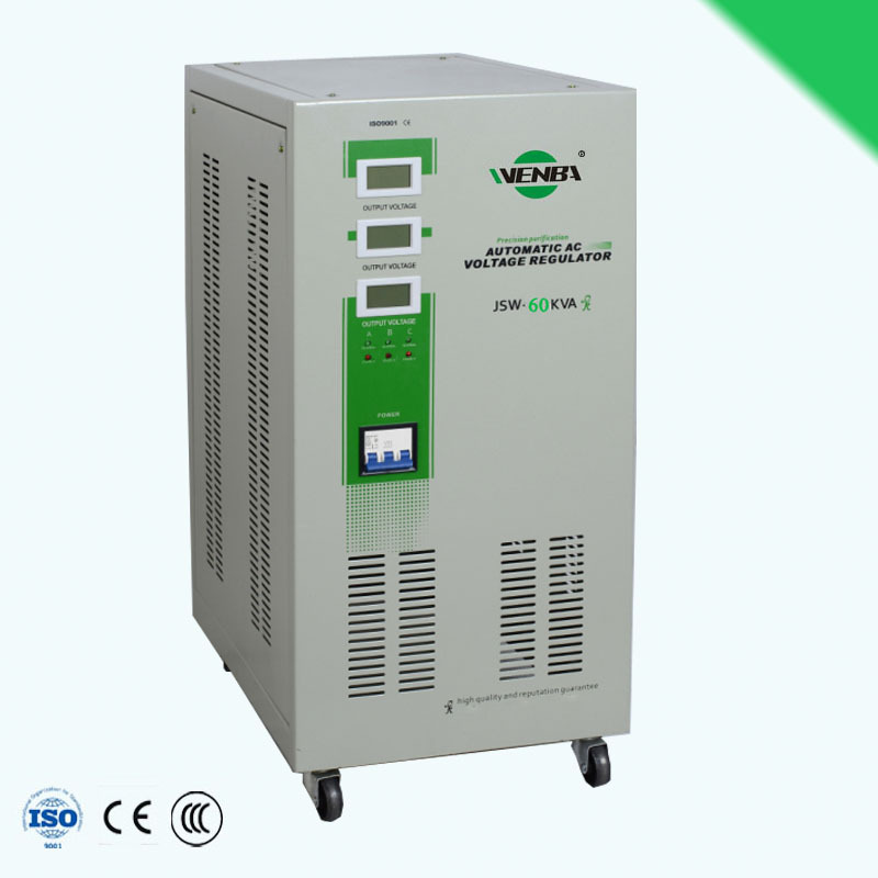 JSW-60kva three phase ac voltage stabilizer for hospital