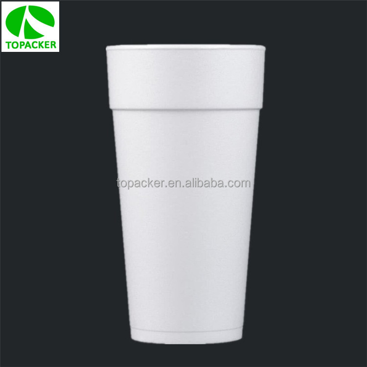 Disposable 20oz EPS white styrofoam cup