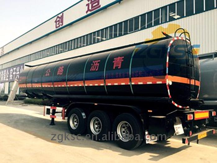 High quality long duration time 30000 liter fuel tank truck for factory use
