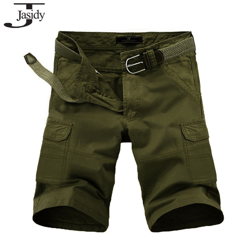39381de46b Buy Summer Men shorts Straight Army Cargo Shorts Work bermuda Cargo  masculina Fashion Sports Overall Trousers Plus size Short Mens in Cheap  Price on ...
