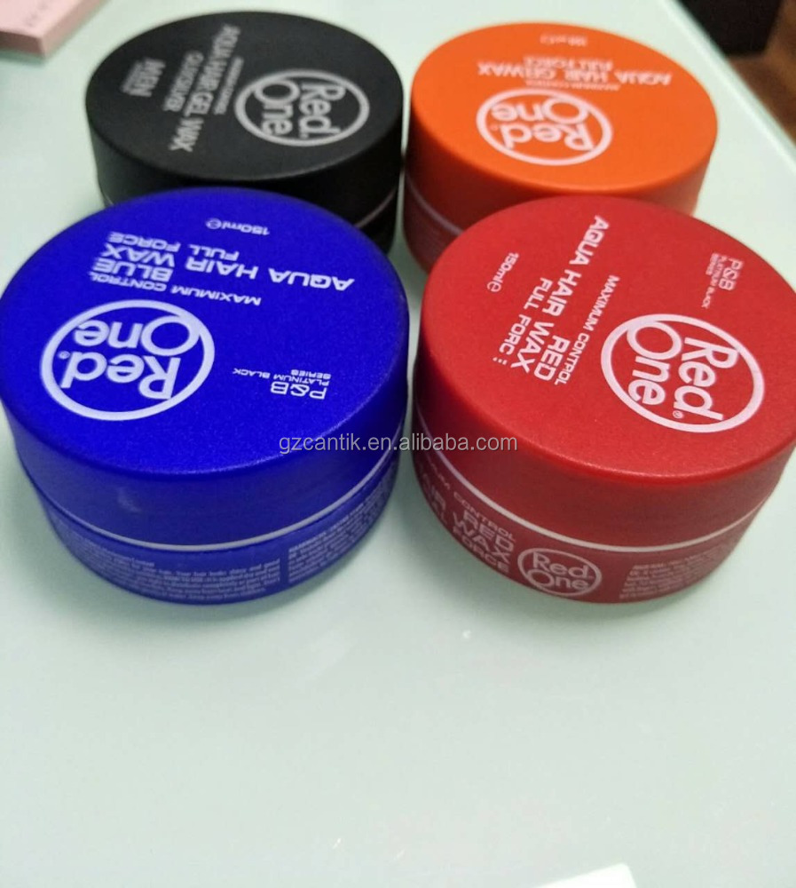 aqua red one hair wax