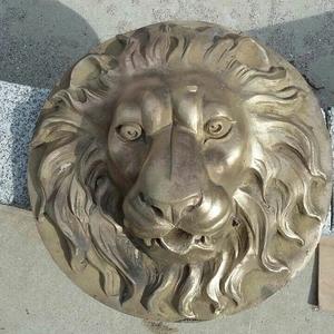 Garden Bronze Lion Head Water Fountain