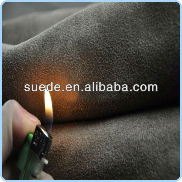 100% Microfiber Suede Fabric for garments,shoes,bags