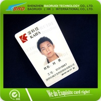 Manufacturer Supply Cmyk Printing 125kHz Plastic Proximity Photo ID Card