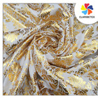 White gold polyester printing table cloth Oxford table linens