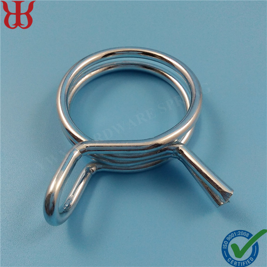 34mm Zinc Plated Steel Double Rings Hose Clamp - Buy Automotive Hose ...