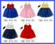 Hot Fashion New Design Kids Sequin Dress Kids Casual Tutu Glitter Dresses Baby Girls Bridal Dresses With Headband