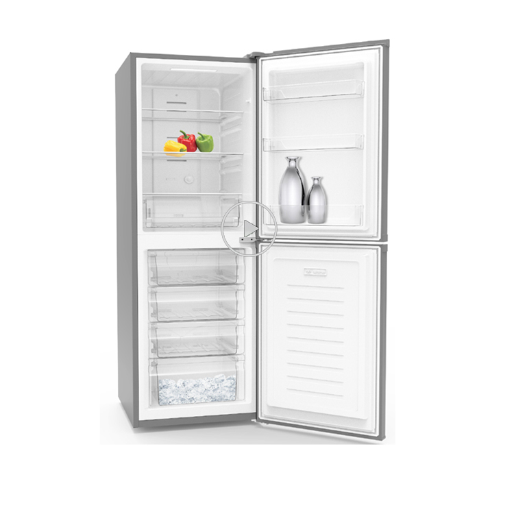 UL CE Approval Bottom Freezer Auto Defrost Fridge Refrigerator Freezer